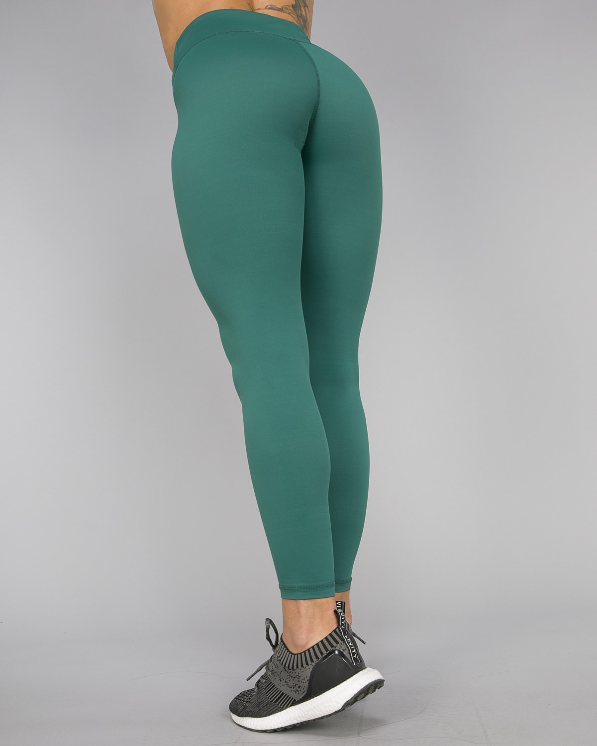 Workout Empire – With Confidence Shape Leggings – Emerald Green13