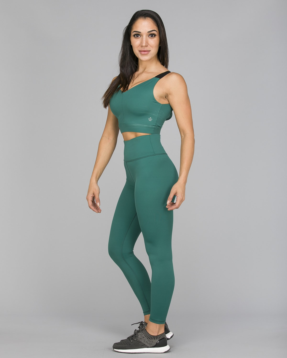 Workout Empire – With Confidence Shape Leggings – Emerald Green2