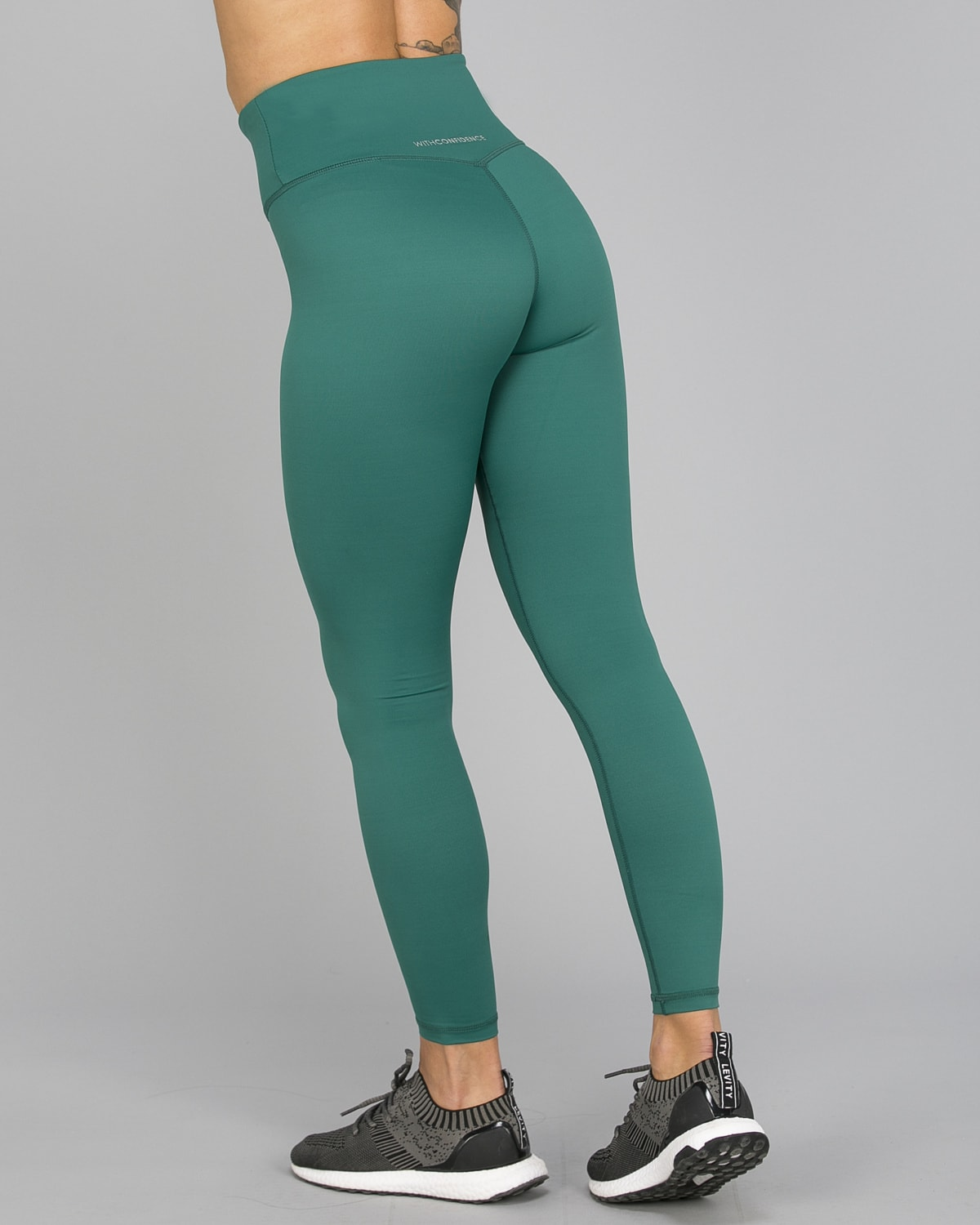 Workout Empire – With Confidence Shape Leggings – Emerald Green6