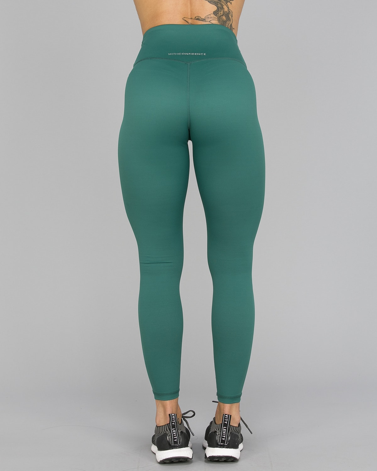 Workout Empire – With Confidence Shape Leggings – Emerald Green7