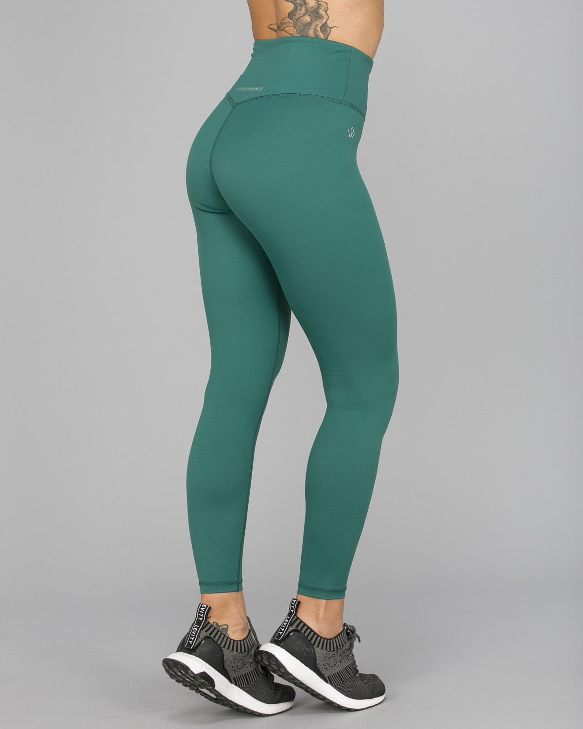 Workout Empire – With Confidence Shape Leggings – Emerald Green8