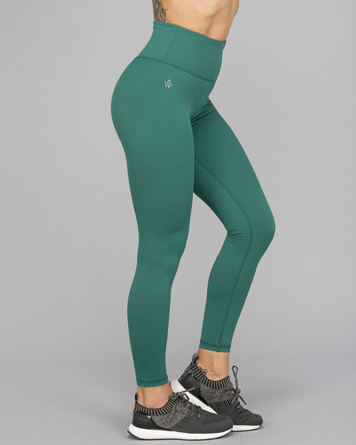 Workout Empire – With Confidence Shape Leggings – Emerald Green9