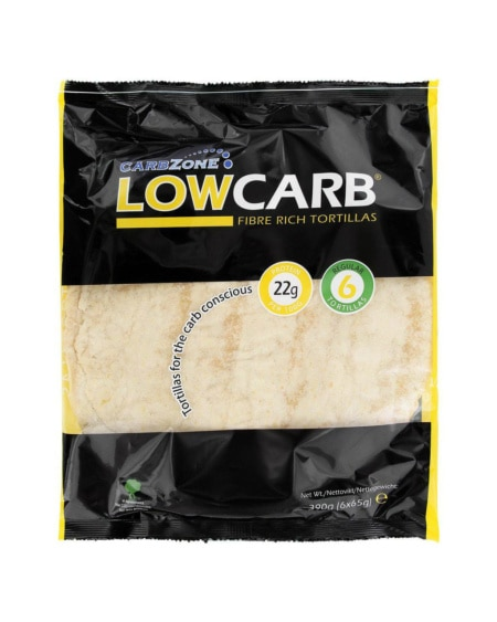 CarbZone Lavkarbo Tortillas Large 6x65g