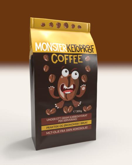 Monster Keto Bulletproof Coffee 300g - BESTSELGER!