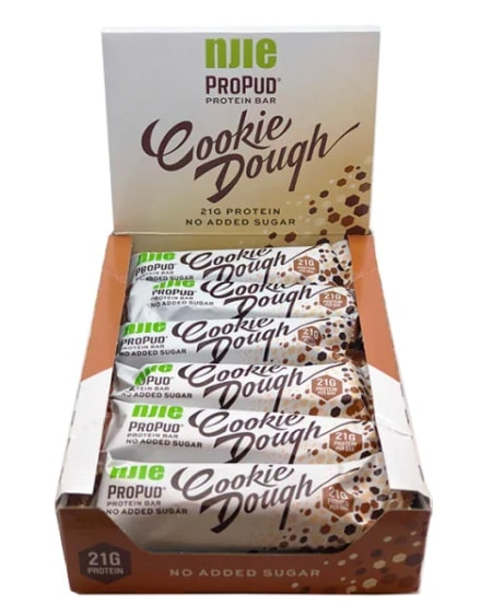 NIJE ProPud Protein Bar - Cookie Dough 12x55g
