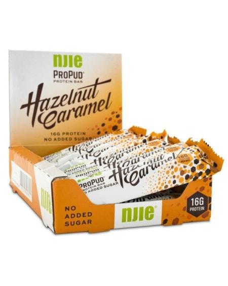 NIJE ProPud Protein Bar - Hazelnut Caramel 12x55g