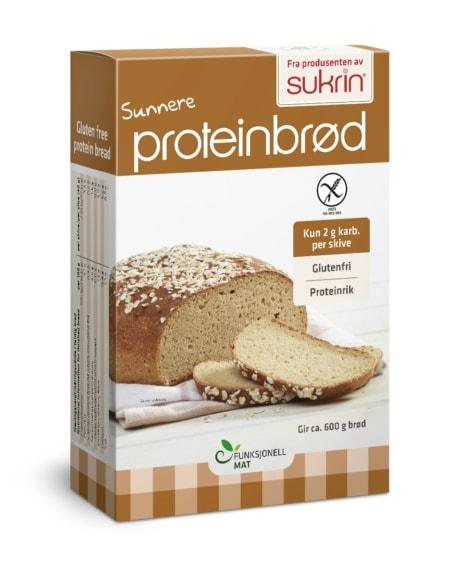 Funksjonell Mat Sunnere Proteinbrød 250g