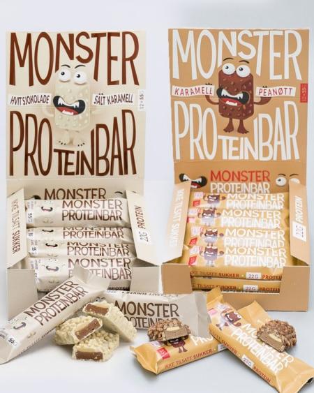 Proteinbar Smakspakke - 24 BARER!