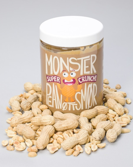 Monster Pure Peanut Butter - Crunchy 900g