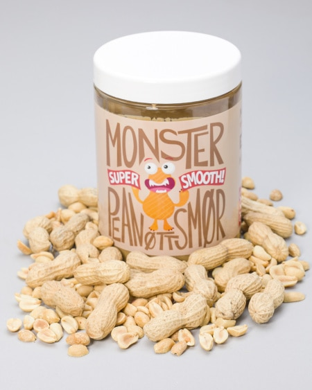 Monster Pure Peanut Butter - Smooth 1kg