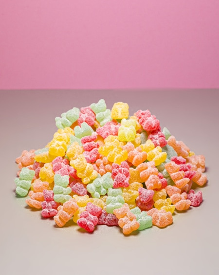 Sukkerfri Søte Bjørner 1kg