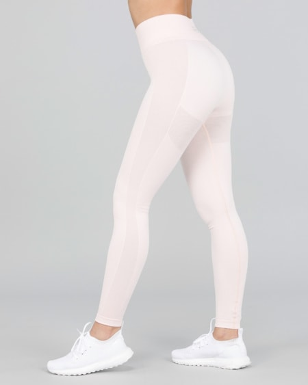 BumPro Power Up! Tights Pink Melange