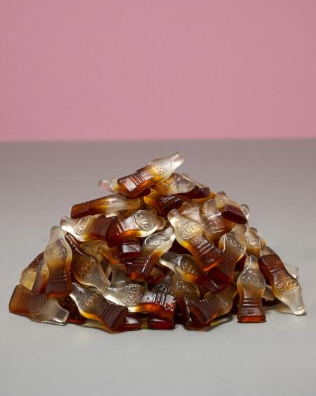 Sukkerfri Store Søte Colaflasker 1kg