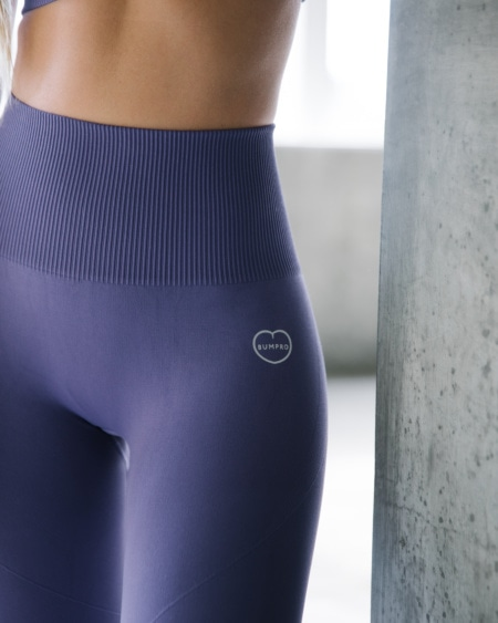 BumPro Hyper Legging Haze Dark Purple