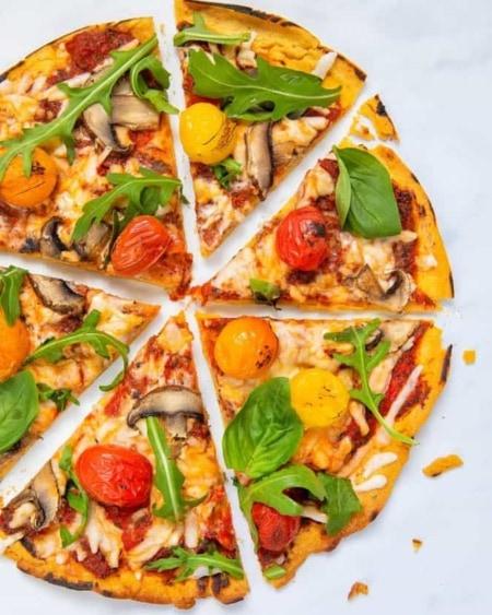 Super-Lavkarbo Pizzabunn 180g - NY VERSJON