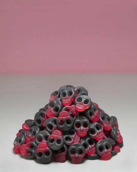 Sukkerfrie Lakris/Kirsebær Skaller 1kg