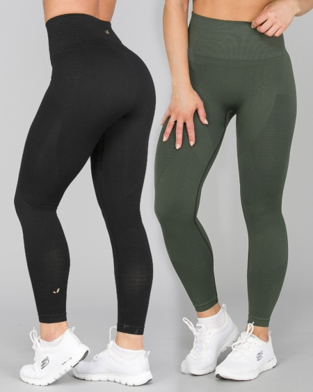 2 for 1 Jerf Gela 2.0 Tights Black + Green