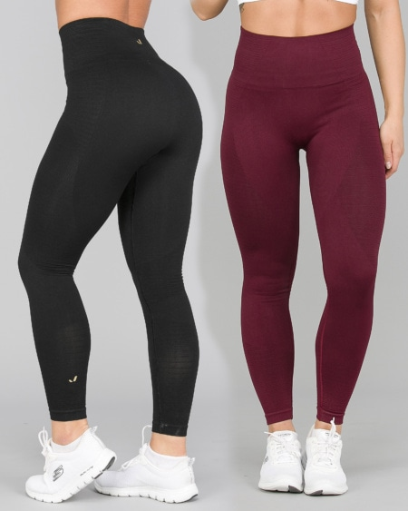 2 for 1 Jerf Gela 2.0 Tights Black + Maroon