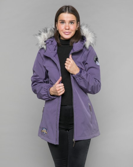 Jacket Dimmed Purple