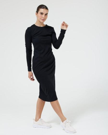 LS Dress Black