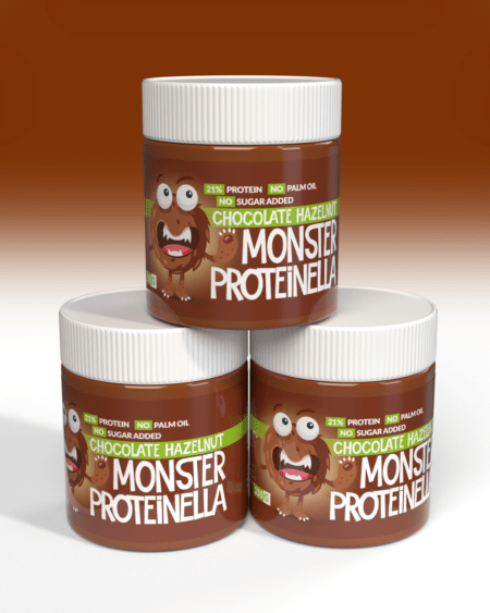 Monster Proteinella - Hazelnut Chocolate 250g - TREPAKNING
