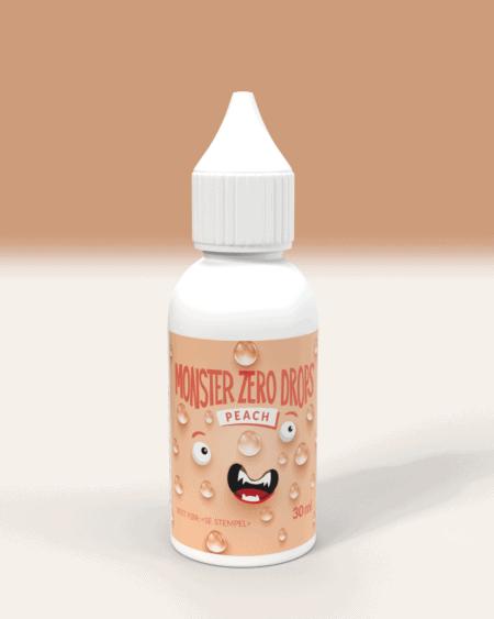 Monster Lavkarbo Zero Drops - Peach