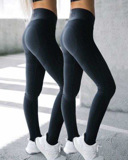 2-pack BumPro Battle Tights Solid Black