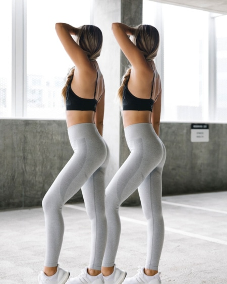 2-pack BumPro Beam Tights Grey