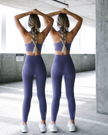 2-pack BumPro Hyper Legging Haze Dark Purple