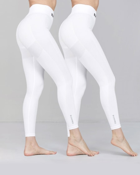2-pack BumPro Power Up! Tights White