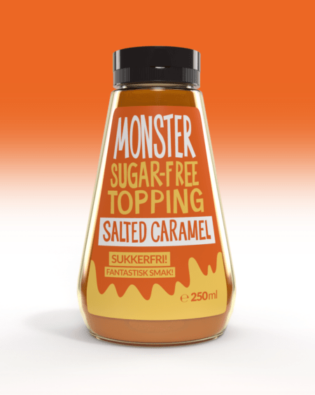 Monster - Sugar Free Topping - Salted Caramel 250g