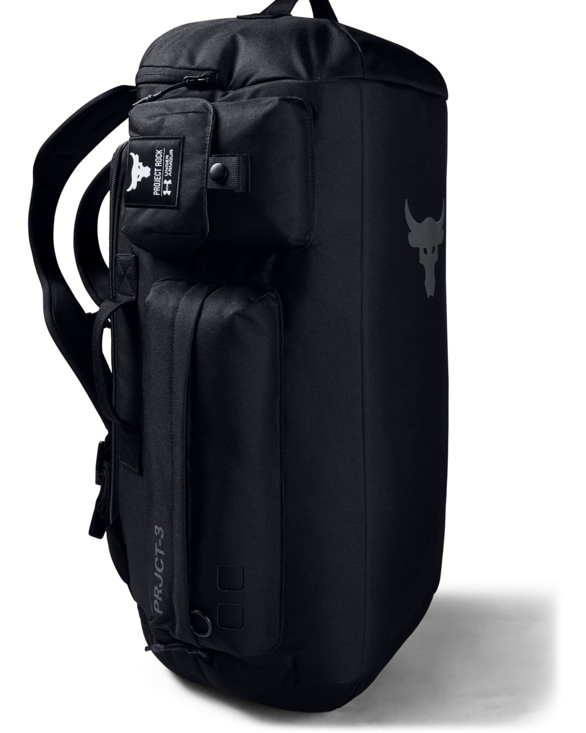 Under Armour Project Rock Duffle Backpack Black