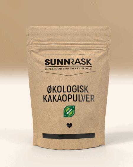 SunnRask Økologisk Kakaopulver 400g