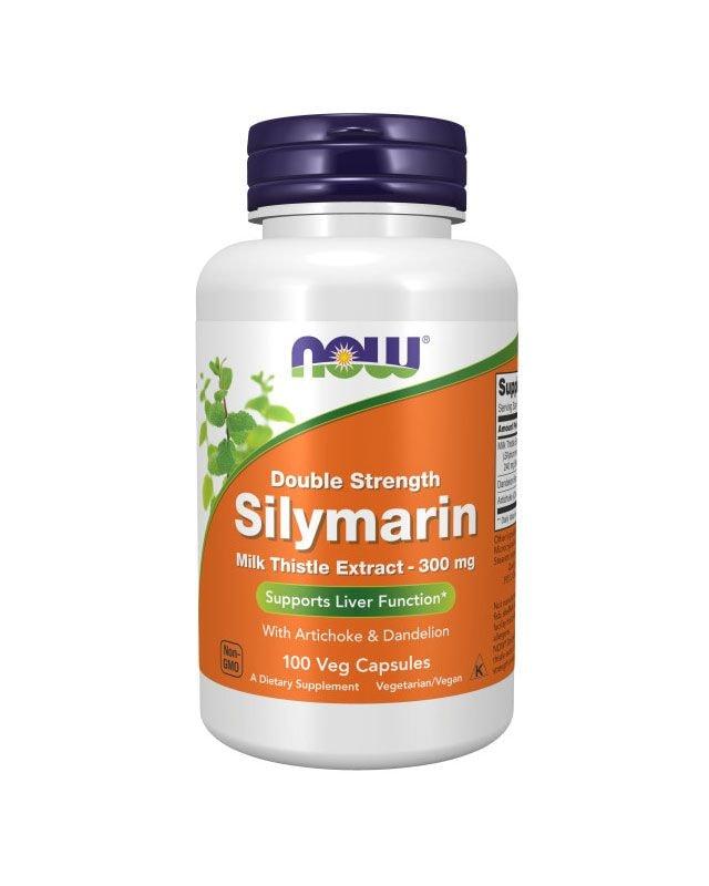 Now Foods Silymarin Milk Thistle - 300mg - 100 veg