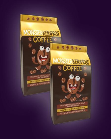 2 x Monster Keto Bulletproof Coffee 300g – BESTSELGER!