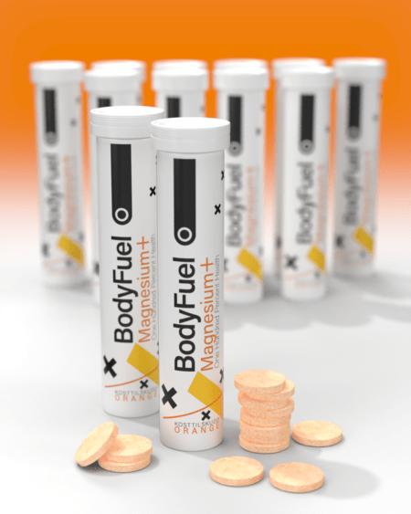 BodyFuel Magnesium Brusetabletter - TIPAKNING