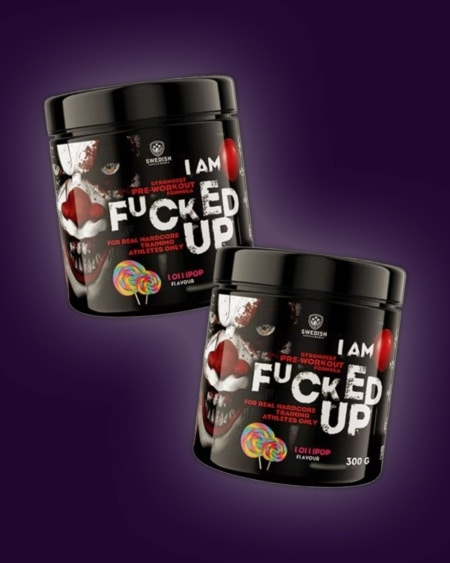 2 x F#cked Up Preworkout 300g
