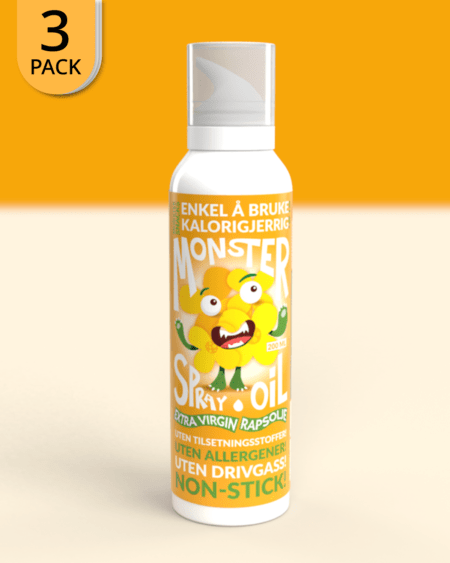 3x Monster - Canola Oil Cooking Spray - 200ml
