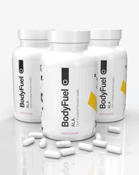 3x BodyFuel Alpha Lipoic Acid