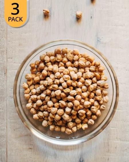 3x SunnRask Økologiske Kikerter 1kg
